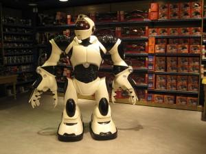 Japanischer Roboter als Spielzeug