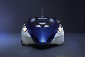 Das AeroMobil 3.0 in der Frontansicht