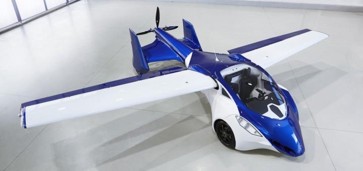 AeroMobil 3.0 im Flug-Modus
