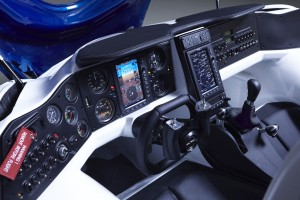 Cockpit des AeroMobils 3.0
