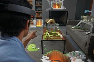Hologramme in die reale Welt einbetten mit der HoloLense