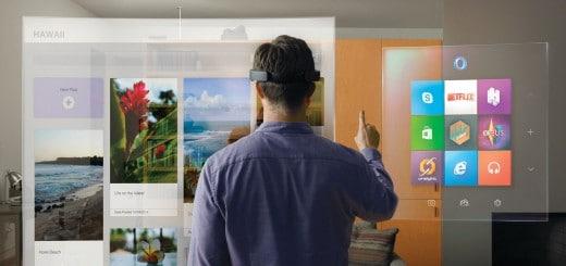 Im Internet surfen mit der HoloLens