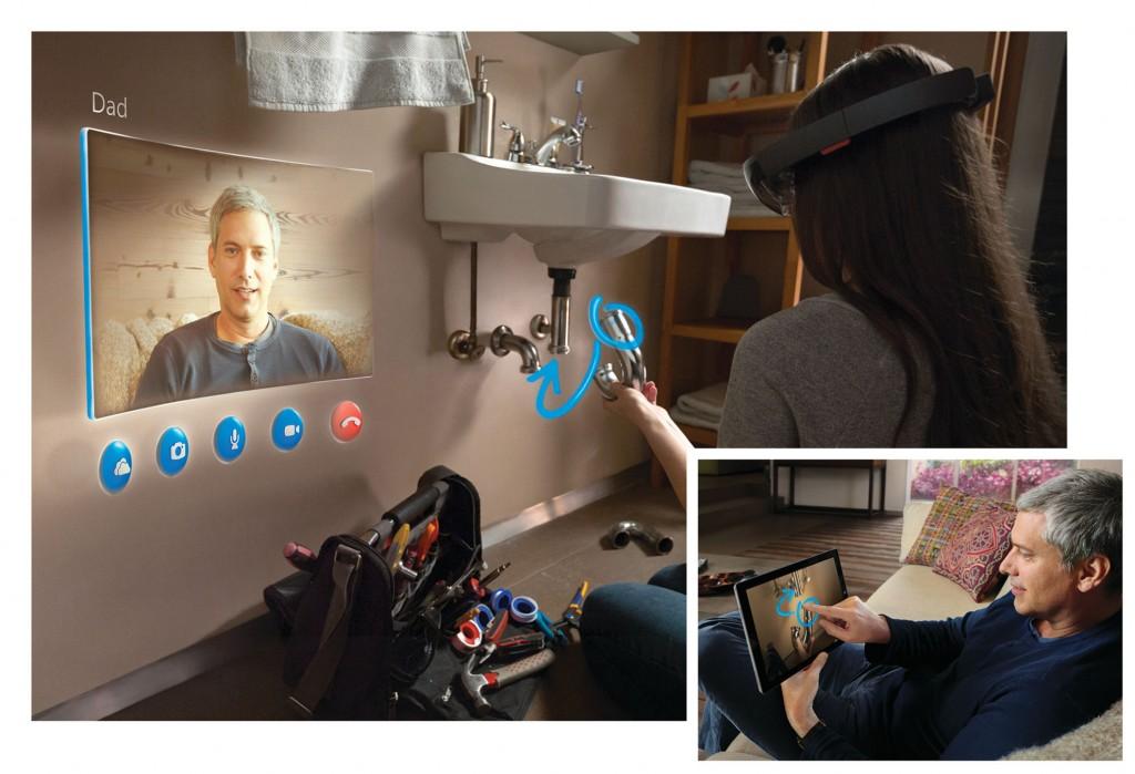 Skypen mit der HoloLense