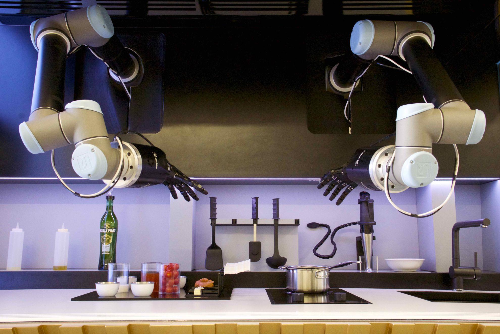 automatisierte Küche