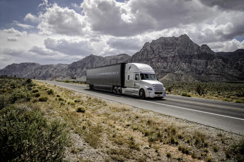 Weltpremiere Freightliner Inspiration Truck