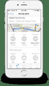 Fahrt-Informationen in der App