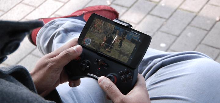 SWYO auf dem Smartphone mit Bluetooth Game-Controller
