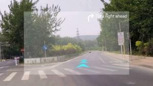 Navigations-Einblendung in der SENTH IN1