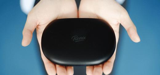 Remix Mini in der Hand