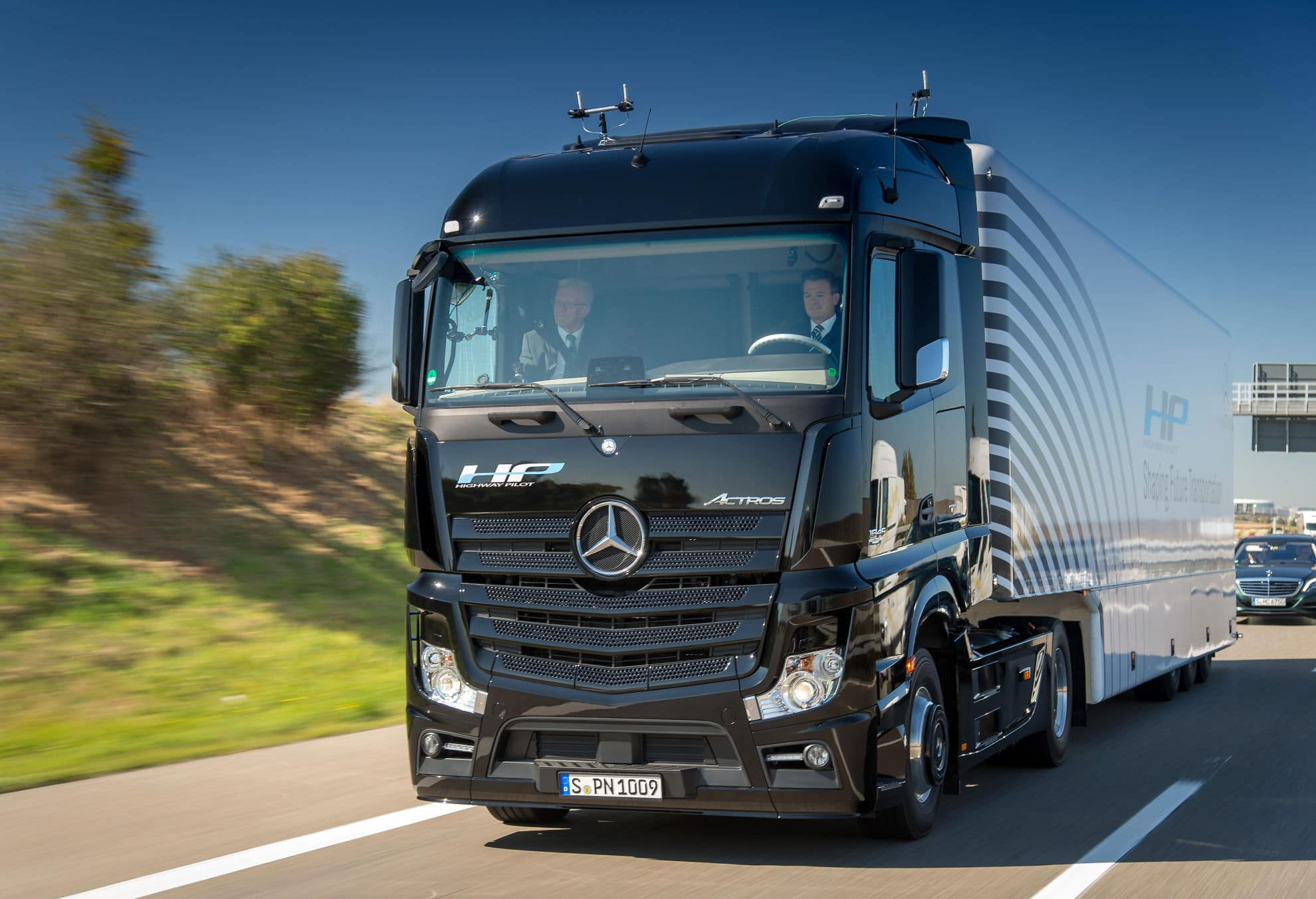 Autonom fahrende LKW