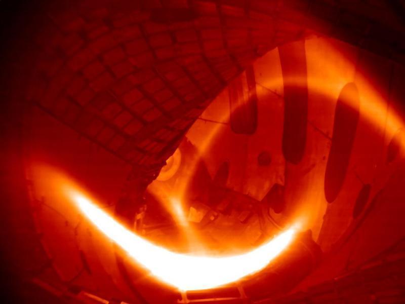 Wasserstoff-Plasma/ Fusionsreaktor