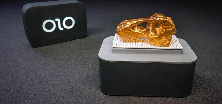 3D-Drucken mit dem OLO 3D-Drucker fürs Smartphone (Foto: OLO)