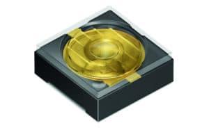 Die kleine, aber leistungsstarke Oslux SFH-4786S Leuchtdiode (Bild: OSRAM)